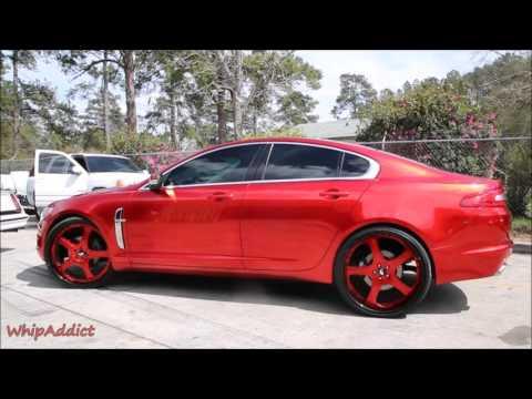 WhipAddict: Kandy Red Jaguar XF on 24