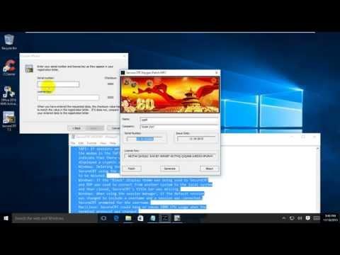 how to activate secureCRT v7 3 1 full   VanDyke SecureCRT v7 3 1   100% Working