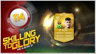 FIFA 15 - Skilling to Glory S2 ''Neymar Skill Squad'' Episode 114, neymar, neymar Barcelona,  Barcelona, chung ket cup c1, Barcelona juventus