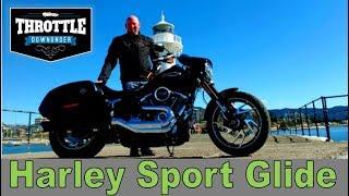 5. 2018 Sport Glide (Harley-Davidson Softail  review)