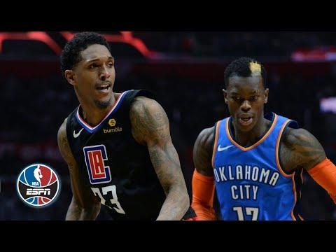 Lou Williams scores 40 in win | Thunder vs. Clippers | NBA Highlights - Thời lượng: 7 phút, 4 giây.