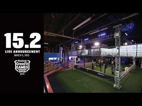 Live Announcement of Open Workout 15.2
