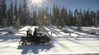6. Включай на мак�имум! Снегоходы Ski Doo Expedition.