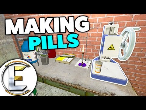 Pharmaceuticals Making Pills - Gmod DarkRP (Pharmacist Making Tablets To Sell)