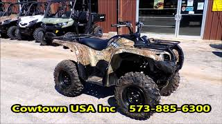 9. 2008 Yamaha Grizzly 700 Camo