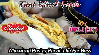 Trini Street Foods - Macaroni Pastry Pie at The Pie Boss