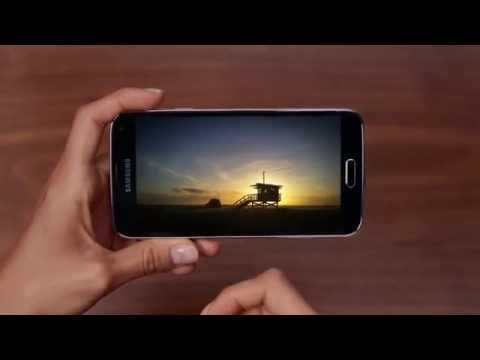 New ads for the Samsung Galaxy S5 focus on features