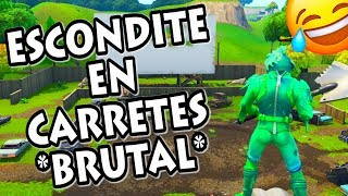 Video JUGANDO AL ESCONDITE en CARRETES COMPROMETIDOS una locura como se esconden FORTNITE MP3, 3GP, MP4, WEBM, AVI, FLV Februari 2019