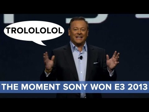 moment - The Moment Sony Won E3 2013 - Sony Conference - Eurogamer They think it's all over? It is now! Do you think Microsoft can come back from this, or are they Xb...