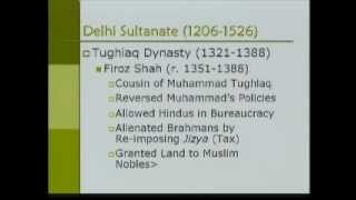 Asian Civilization-PartS10-Muslim Rule in India (700 - 1526 AD)