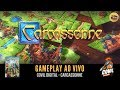 Covil Digital Gameplay Carcassonne Ao Vivo