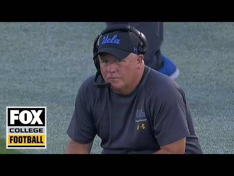 Video: Chip Kelly #CoachCam: Oklahoma at UCLA First Half | FOX COLLEGE FOOTBALL
