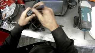 10. ski-doo 600cc twin rebuild part 3 how to remove stator and wires