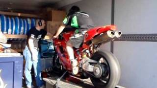 5. Ducati 848 SuperBike on DYNO (Great Ducati Sound)