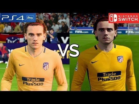 FIFA 18 Graphics Comparison (PS4 Pro Vs Nintendo Switch)