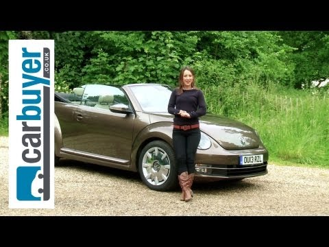 beetle - Volkswagen Beetle Cabriolet 2014 review: http://bit.ly/12ZRh5Y Subscribe to the Carbuyer YouTube channel: http://bit.ly/17k4fct Subscribe to Auto Express: ht...
