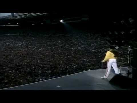 Queen - Under Pressure (Live At Wembley Stadium, Saturday 12 July 1986) (видео)
