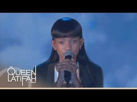 Latifah - Willow Smith performs on the first episode of The Queen Latifah Show. SUBSCRIBE: http://bit.ly/QLsubscribe About Queen Latifah: Queen Latifah is a musician, ...