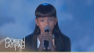 "Willow Smith Performs ""Summer Fling"" on The Queen Latifah Show - YouTube"