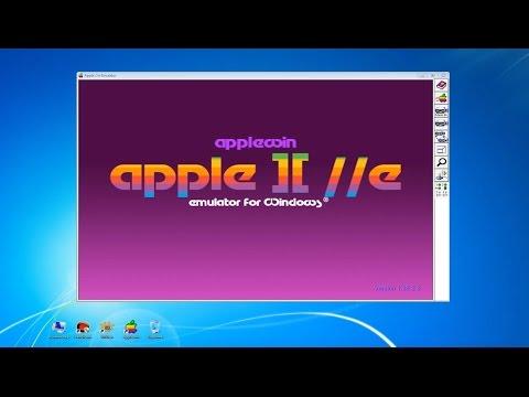 Обзор Applewin - эмулятора Apple II для Windows на русском языке
