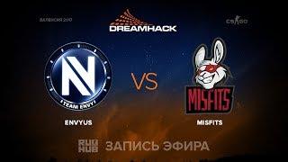 EnVyUs vs Misfits - DH Open Valencia - map1 - de_cobblestone [sleepsomewhile, mintgod]
