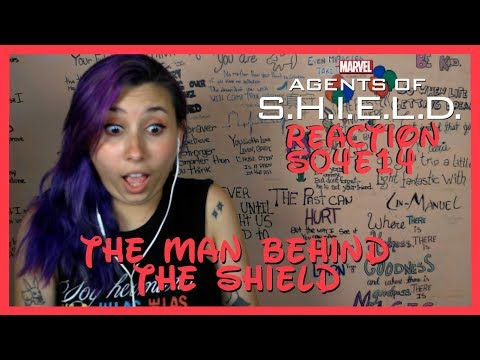 Agents of Shield Reaction S04E14 The Man Behind the Shield