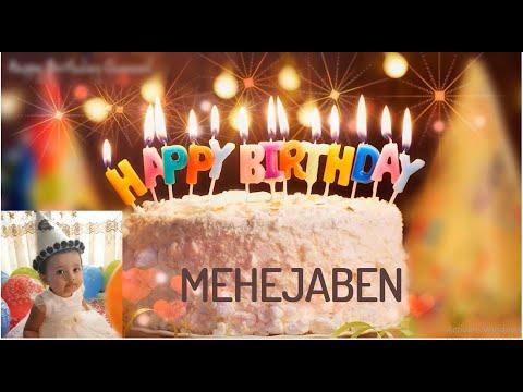 Mehejabeen's Birthday | Happy Birthday Mahejabeen | Birthday video