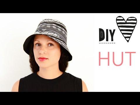 Hut nähen - Bucket Hat mit Schnittmuster / DIY MODE Nähanleitung