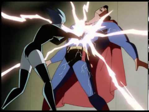 Superman vs. Livewire Ryona
