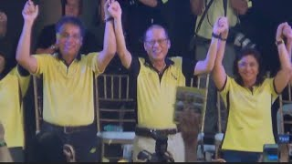 Roxas, Robredo kick off campaign in Capiz