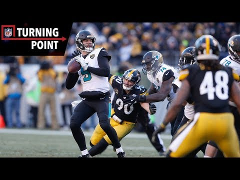 Video: Bortles Silences the Doubters With Upset Win Over Steelers (AFC Divisional) | NFL Turning Point
