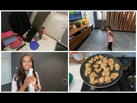 Morning to afternoon routine/Tintu school vlog/Husband's lunch and dinner box