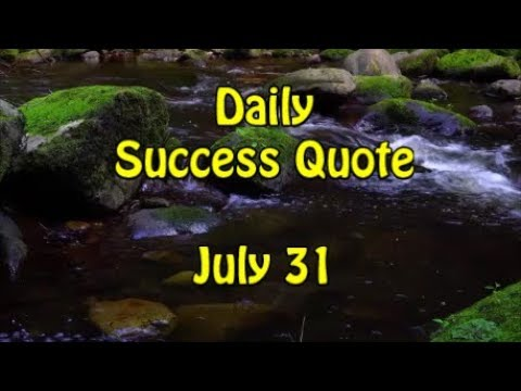 Success quotes - Daily Success Quote July 31  Motivational Quotes for Success in Life