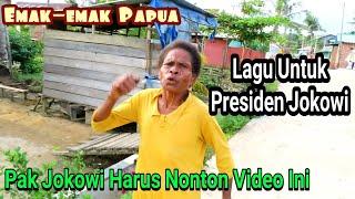 Video Bikin terharu ! Emak-emak Papua menyanyikan ini lagu untuk presiden Jokowi MP3, 3GP, MP4, WEBM, AVI, FLV Maret 2019