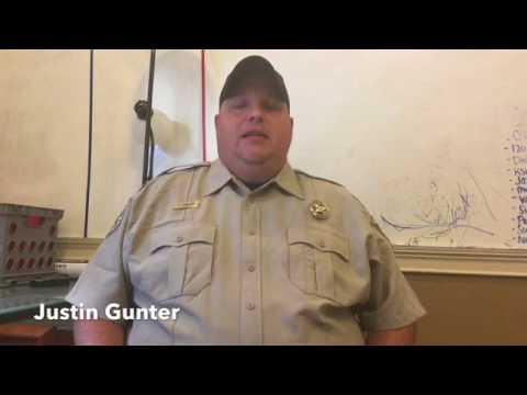 Justin Gunter - Coosa Valley News Person of the Week