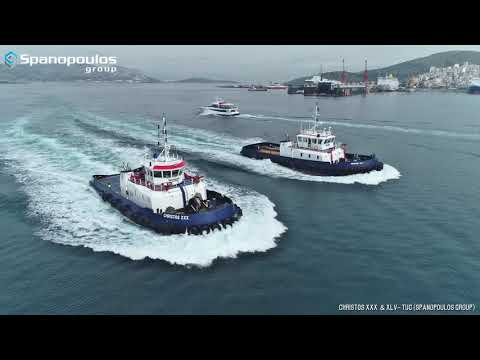 Spanopoulos Tugboats Christos XXX and Christos XLV