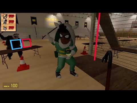 VanossGaming - Gmod Death Run Funny Moments   Vanoss Superhero School Training! Garry's Mod (видео)