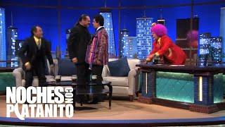 Teo Gonzalez y Carlos Eduardo en Bronca! - Noches con Platanito