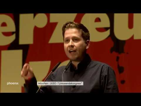 Linkswendekongress-Rede von Kevin Kühnert mit Einordnu ...