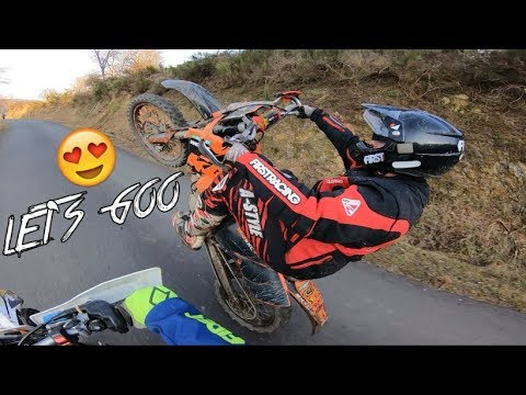 Enduro, Gamelles, Wheeling, CE QU'ON AIME ! 👌