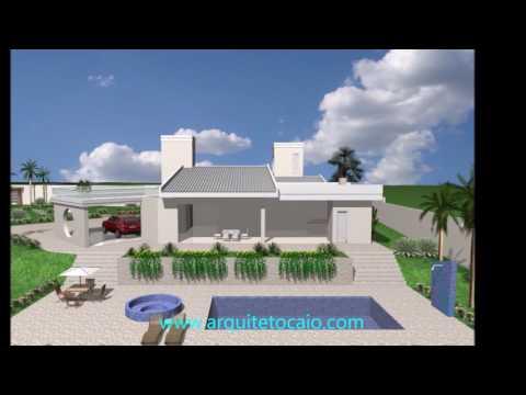 Projeto para Reforma de Casa Térrea com Mezanino em Chacara de Limeira SP www.arquitetocampinas.com