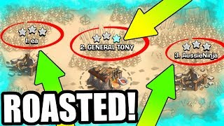 Video WE ALL GOT CRUSHED! - Clash Of Clans - HOW DID THIS HAPPEN!? MP3, 3GP, MP4, WEBM, AVI, FLV Oktober 2017