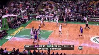 Lakers 90 @ Celtics 89 | Kobe game-winner over Ray Allen | 01-31-10