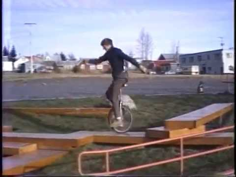 George Peck  Rough Terrain Unicycling