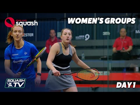 AJ Bell England Squash Challenge 2020 - Women's Groups - Day 1 Roundup