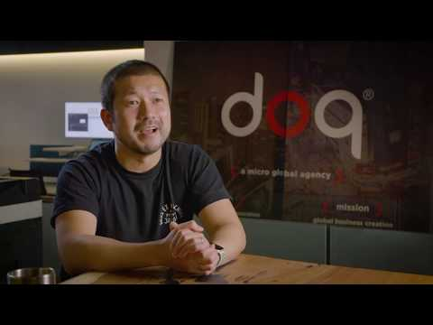2019 Finalist Yoshi Sakuno of The Doq finalist in the Small Business Category