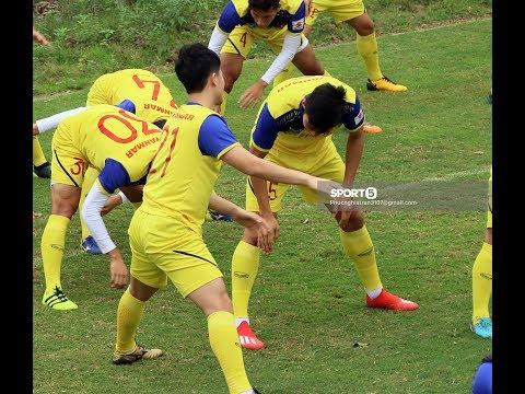Đình Trọng bị thầy Park phạt đứng góc lớp, U23 Việt Nam hóa lớp học thể dục - Thời lượng: 12:49.