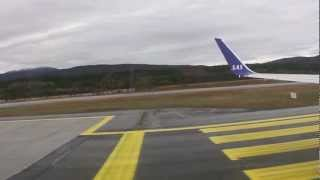 Evenes Norway  city photos : Take off from Evenes Airport Norway 29.09.2012