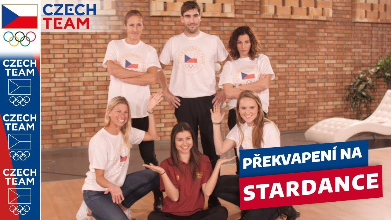 Stardance: Czech Team vyrazil podpořit Davida Svobodu před finále