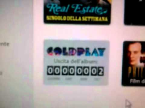 Coldplay - Mylo Xyloto (COUNTDOWN iTUNES)